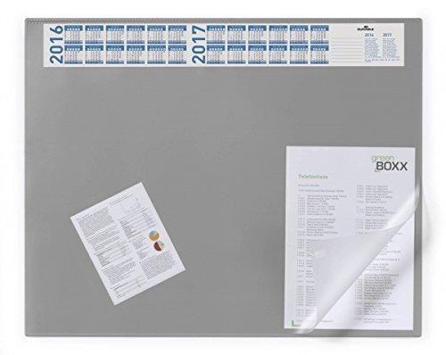 Durable 7204 Schreibunterlage Schreibunterlage Schreibunterlage mit Vollsichtplatte und Jahreskalender, 650 x 520 mm (grau, 3er Aktionspack) B014FCIRQC     | Stilvoll und lustig  fedc46