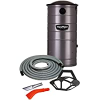 VacuMaid UV150CKP Extended Life Professional Wall Mounted Utility Vacuum 50 ft. Car Kit Pro