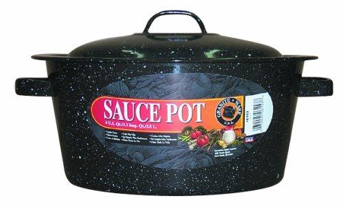 Granite Ware 6153-6 Covered Sauce Pot, 4-Quart