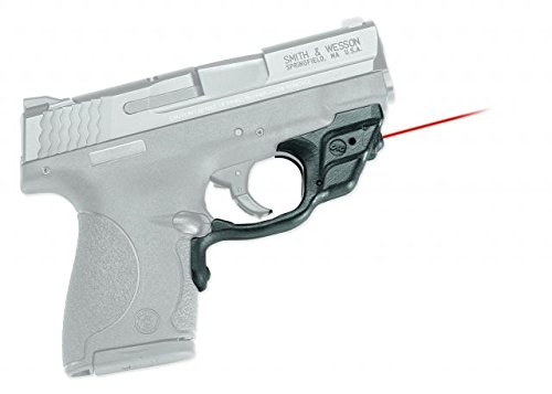 Crimson Trace LG-489 Laserguard Red Laser Sight for Smith & Wesson M&P Shield Pistols by Crimson Trace