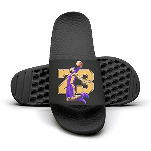 Mens 23-Basketbal-LaBron- Non-Slip Summer Sandals Slippers Soft Foams Slippers