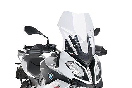 Touring Windscreen - 15-18 BMW S1000XR: Puig Touring Windscreen (CLEAR)