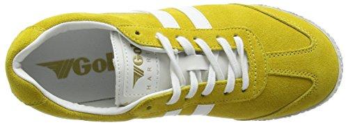 Damen Gola Sneakers Gelb Yellow White Harrier Schwarz AppdwCq