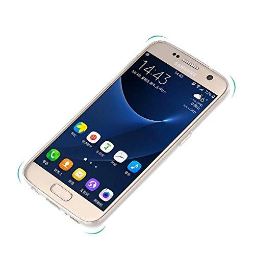 Carcasa para Galaxy S7 Edge, Vandot TPU Transparente Funda Cubierta de Silicona de Ultra Delgado Impresión Fresco Fruta Patrón de Estuche Carcasa Trasera Shock-Absorción Anti-Arañazos Protectora Caja  Design 7