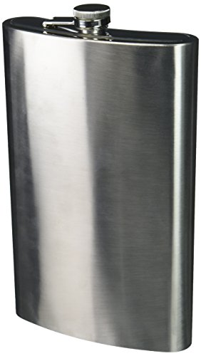 Oversized Stainless Steel Novelty Flask