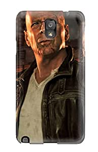 linJUN FENGExcellent Galaxy Note 3 Case Tpu Cover Back Skin Protector Die Hard Movie
