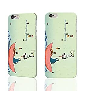"""Funny Totoro and FriendsTotoro and Friends 3D Rough iphone Plus 6 -5.5 inches Case Skin, fashion design image custom iPhone 6 Plus - 5.5 inches , durable iphone 6 hard 3D case cover for iphone 6 (5.5""""), Case New Design By Codystore"""