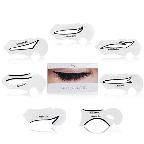 Amazy Eyeliner Schablone - Für den perfekten Lidstrich und ein makelloses Augen-Make-up
