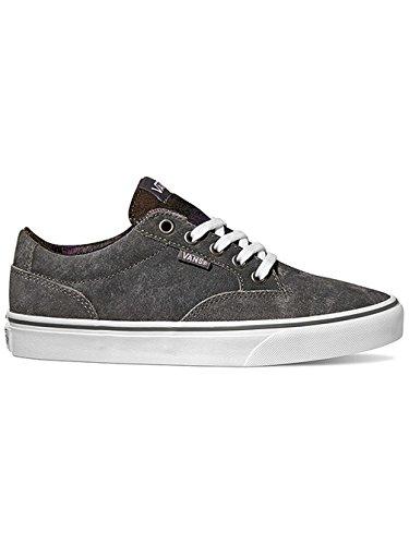 Distress Skate Suede imbottite Scarpe Sneakers Nero Unisex VANS zBFqZq