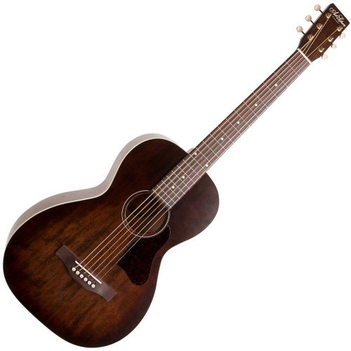 Art & Lutherie Roadhouse Parlor Acoustic-Electric Guitar Bourbon Burst