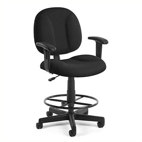- OFM 105-AA-DK-805 Comfort Series Super chair with Arms and Drafting Kit
