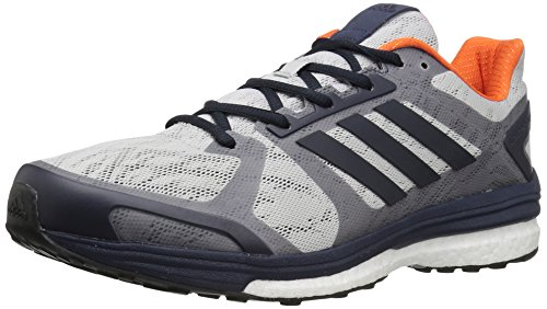 adidas Performance Men's Supernova Sequence 9 M Running Shoe Light Grey Heather/Dark Navy/Mid Night Grey 9 M US