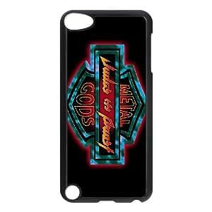 Judas Priest ID185164 funda iPod Touch 5 Funda Caso de la cubierta negro, funda de plástico caja del teléfono celular