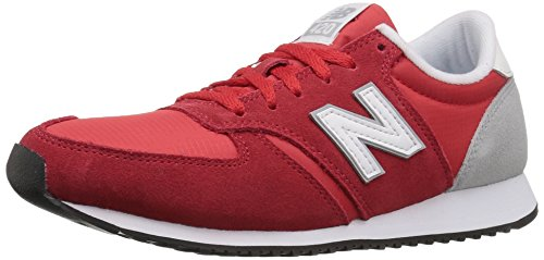 New Balance Women wl420 Sneaker Red/White/Silver Mink