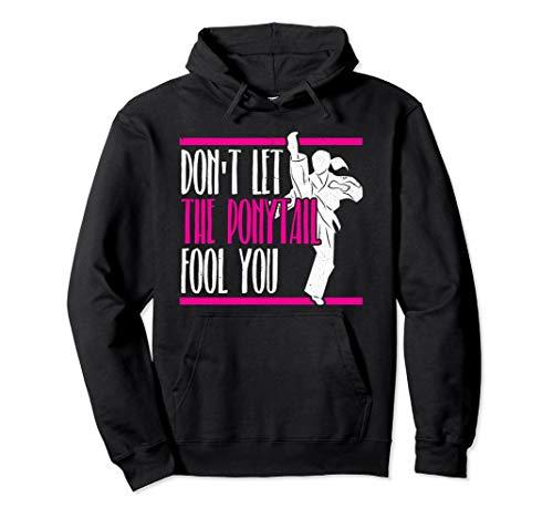 Girls Taekwondo Martial Arts Gifts Women Karate Pullover Hoodie