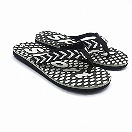 Amazon.com: Taco Mocho Men Flip Flops Summer Beach Massage Slippers Bathroom Home Slippers Flat Men Flip Flop EUR 39-43 Men Canvas Men Shoes Sandalias: ...