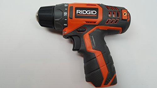 Ridgid R82005 Genuine OEM 3/8 Inch 12V Lithium Ion Brushless and Cordless 300 In-Lbs Drill / Driver (Battery Not Included, Power Tool Only)