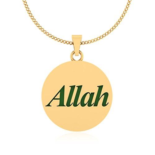 IskiUski 14KT Gold Pendant for Women
