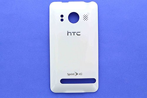 Genuine HTC EVO 4G White Back Cover Battery Door (Htc Door Battery)