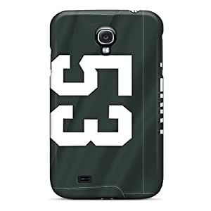 Samsung Galaxy S4 SGK26158kAZh Allow Personal Design High Resolution Green Bay Packers Skin Protective Cell-phone Hard Cover -SherriFakhry