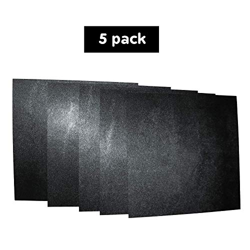 5 Pack 12x12x.062 ABS Plastic Sheets, Moldable Plastic Sheets, Great for DIY Projects, High Tensile and Impact Strength Plastic, Made in USA