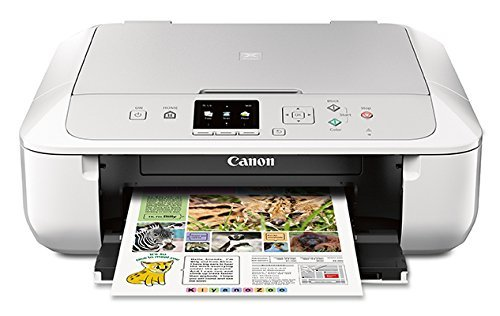 Canon MG5720 Wireless All-In-One Printer with Scanner and Copier: Mobile and Tablet Printing with Airprintcompatible, White (Copiers Inkjet Canon)