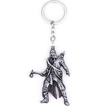DADATU Llavero Juego Assassins Creed Aleación Llaveros ...