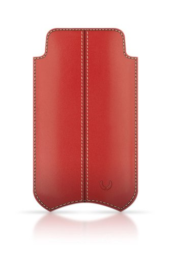 Beyza SlimLine Leather Stitches Case for iPhone 4 / 4S
