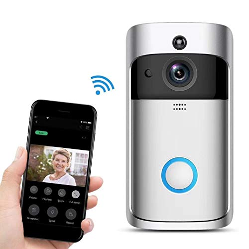 Eubell Wireless Remote Home Monitoring RIP Motion Detection Smart WiFi Video Doorbell by Eubell (Image #2)
