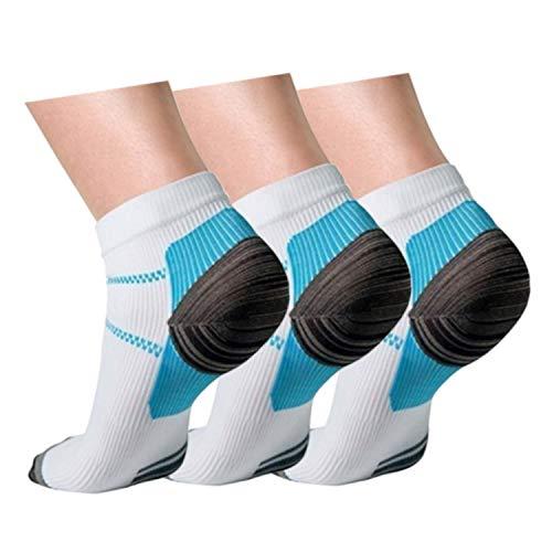 (Compression Plantar Fasciitis Socks For Men & Women, Athletic Arch Support Socks Best For Medical, Running, Travel, Nurses)