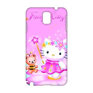 Evil-Store Lovely pink Kitty 3D Phone Case for Samsung Galaxy s5