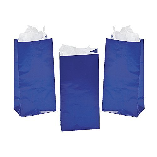 Mini Treat Bags - Blue by - Palm Dessert Mall