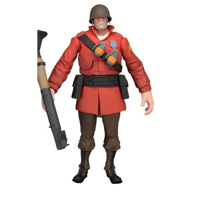 NECA Team Fortress 2 The Soldier Action Figure, 7""