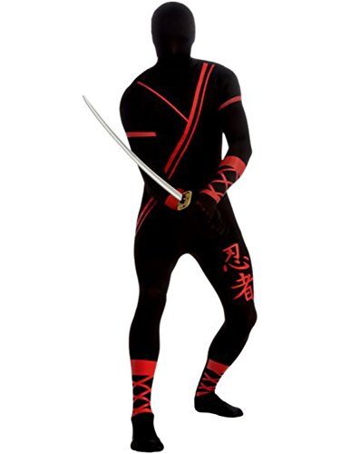 Ninja 2nd Skin Body Suit Costume - Large