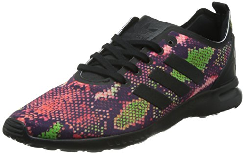 para Negro Black Zapatillas Core Mujer Ftwr Adv Smooth Black Flux ZX White adidas Core xwAq0XX