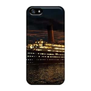 Niceshells Perfect Tpu Cases For Iphone 5/5s/ Anti-scratch Protector Cases (2012 Titianic 3d)