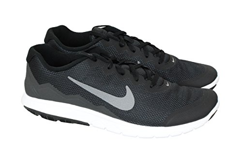 info for 19840 9ddb9 Galleon - Nike Men s Flex Experience RN 4 (Black Mtlc Dark Grey-anthrct- white) Running Shoe, 12.5 D(M) US