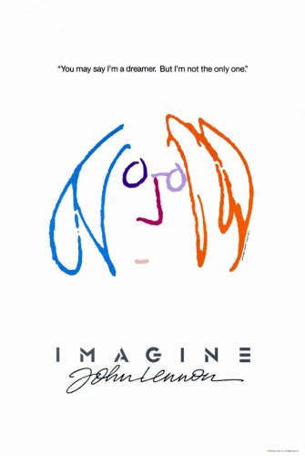 Pop Culture Graphics Imagine John Lennon (1988) - 11 x 17 Poster - Style B