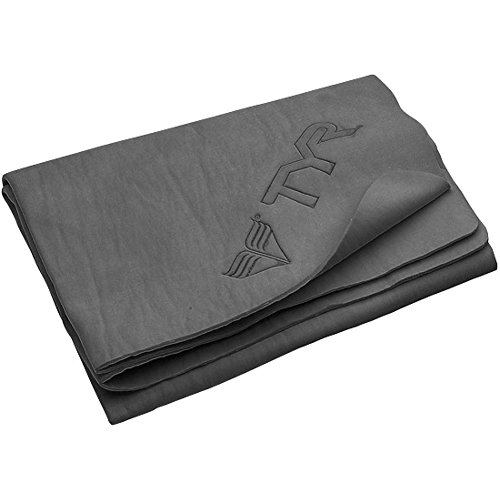 TYR Dryoff Sprot Towel, Charcoal, Large