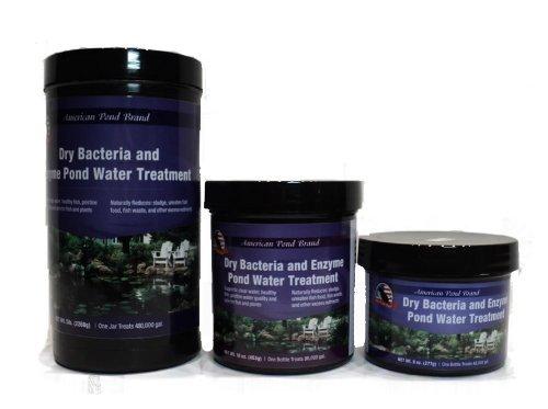 Beneficial Pond Bacteria Dry Powder 8oz Reduces Pond (Bacteria Powder)