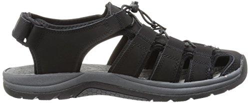 Men's Khombu Khombu Men's Black Sandal Sandal Chandler Chandler wztqaa