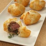 Made with a savory piece of fresh, USDA choice aged beef tenderloin, accented with mushroom duxelle and wrapped in a French-style puff pastry. Preparation instructions are included. We Deal in Wholesale as well as Retail Orders. Our $49.95 sh...