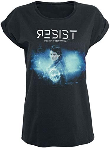 Within Temptation /'Resist Orb/' Womens Fitted T-Shirt NEW /& OFFICIAL!