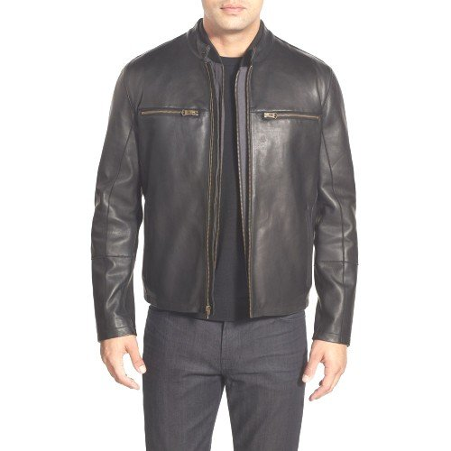 220c3aa99be Harmond Men Classic Leather Jackets  Amazon.in  Clothing   Accessories