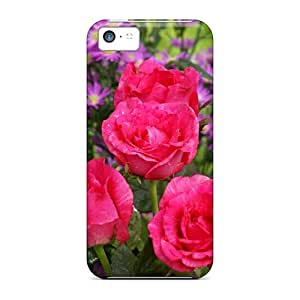 IFZ3837duxu Faddish Roses Wild Flowers Case Cover For Iphone 5c