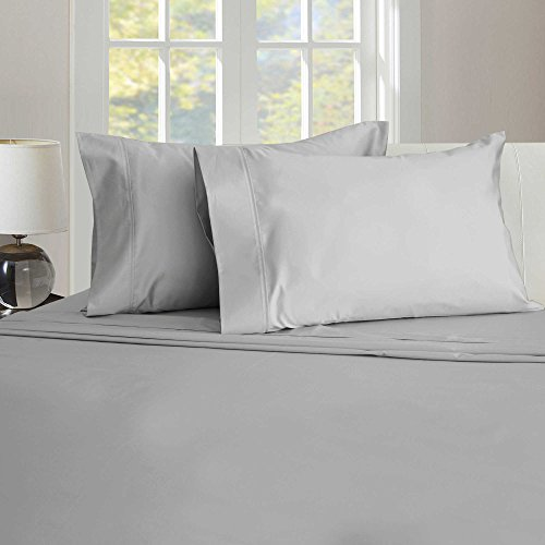 Therapedic 450-Thread Count Sheet Set in GREY - FULL SIZE