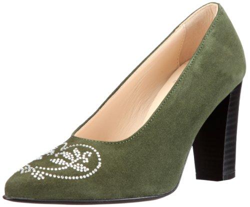 Closed Green Toe 9501 181 Women Pumps Diavolezza Loden 6XZEzqwEx