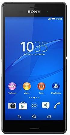 Sony Xperia Z3 Smartphone (13,2 cm (5,2 Zoll) Touch-Display, 16 GB Speicher, Android 4.4) Schwarz