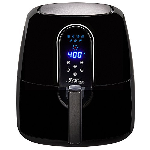 Lowest Price! 5.5 Qt Family Sized Power Air Fryer Elite 7- In -1 Electric Hot Air Fryer