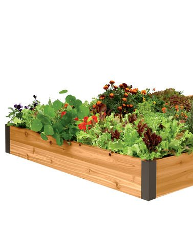 Raised Garden Bed 4' x 12' by Gardener's Supply Company